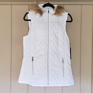 Quilted Puffer Vest Jacket